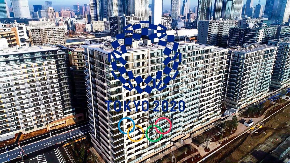 【空撮】2020年東京オリンピック選手村