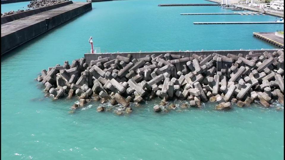 海上設備の可視画像調査