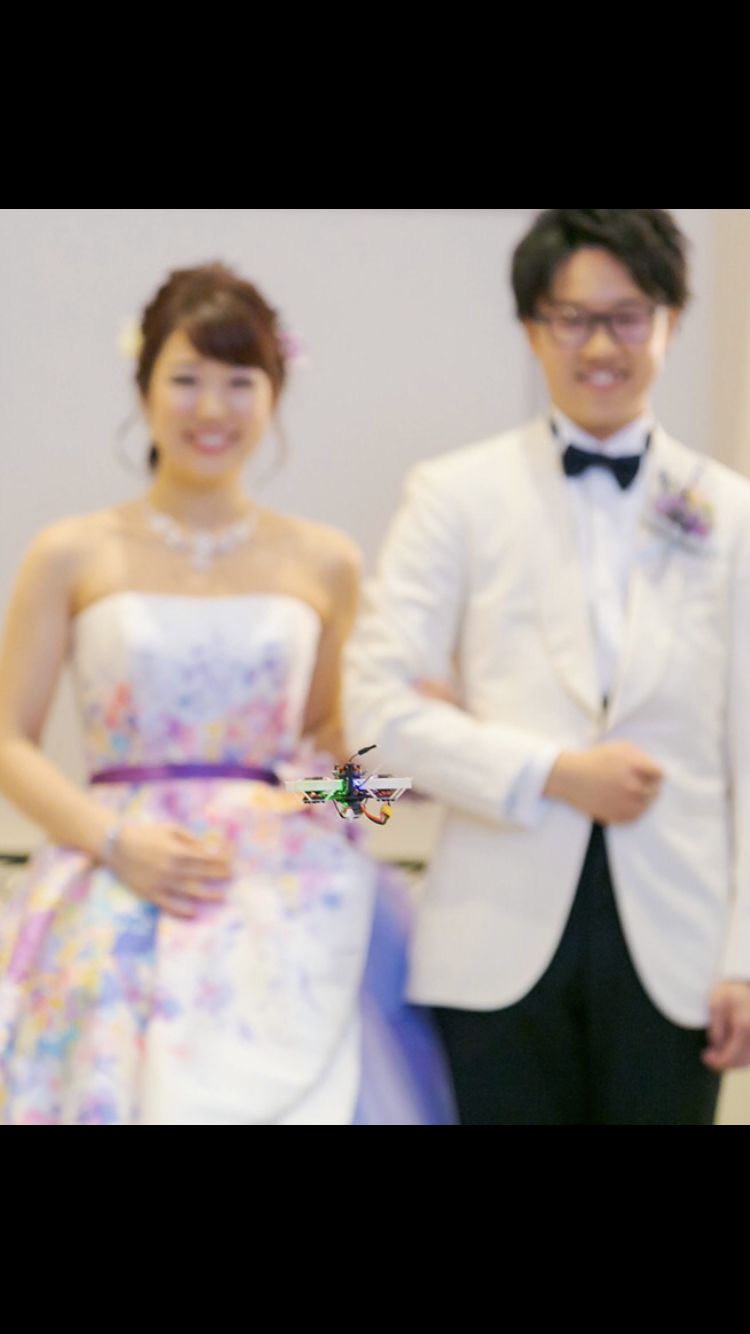 Wedding × Micro drone by SORAeMON
