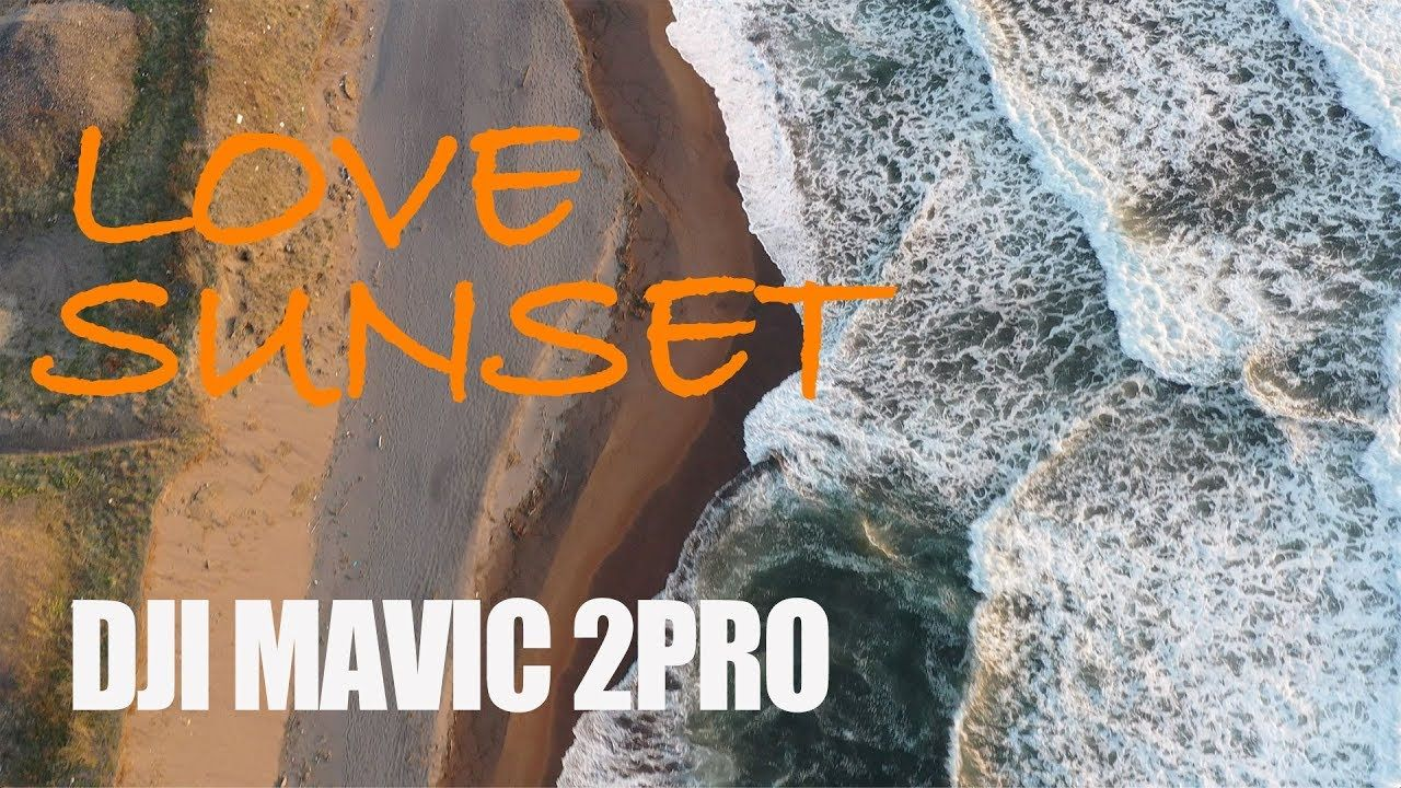 【4K】LOVE SUNSET | shot with DJI Mavic 2 Pro | ドローン 日本絶景