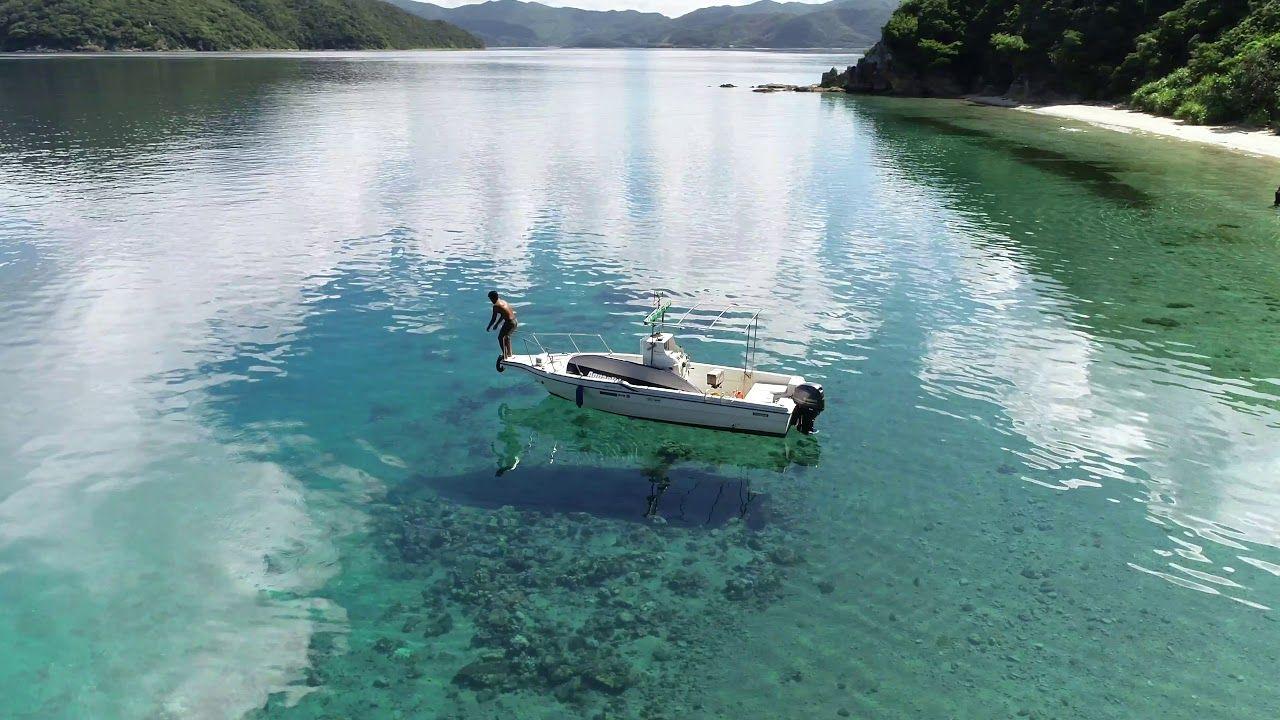 加計呂麻島、大人たちの夏休み(ドローン空撮 4K)