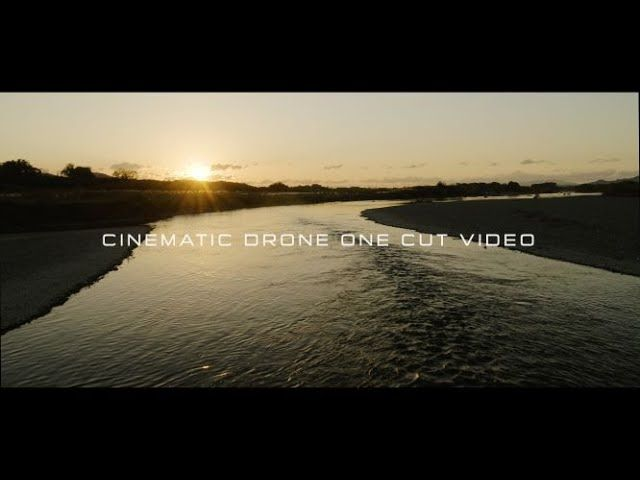 Cinematic drone one cut video 4K